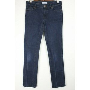LOFT Ann Taylor Straight Leg Blue Jeans Stretch